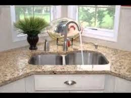 Corner Kitchen Sink Design Ideas YouTube - Kitchen sink design ideas