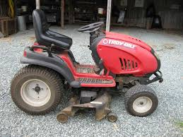 tww fs troy bilt gtx 2446 riding mower