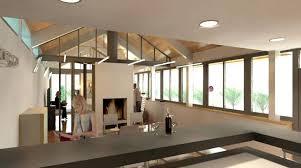 escalier entre cuisine et salon beautiful amenagement salon avec escalier images design trends