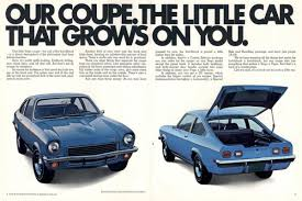1975 chevy vega throwback thursday here comes the vega