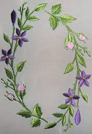 Flower Designs For Embroidery Best 25 Free Machine Embroidery Ideas On Pinterest Machine