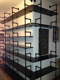 Black Pipe Bookshelf 524 Best Industrial Pipe Shelves Images On Pinterest Industrial