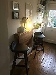 walnut breakfast bar table wall bar table modern best 25 mounted dining ideas on pinterest