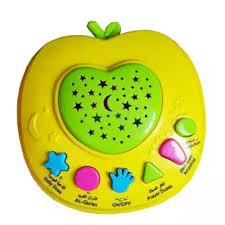 apple quran mainan edukatif apple quran 6 tombol 1pc hijau lazada indonesia