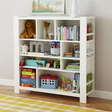 Wall Bookshelves For Nursery by Elegant Kids Bookshelf White Wooden Bookcase For Sleek Look With