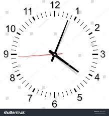 simple clock vector illustrations stock vector 199314560