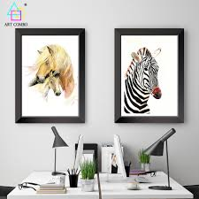 Cheap Framed Wall Art by Online Get Cheap Framed Horses Canvas Aliexpress Com Alibaba Group