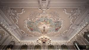 Baroque Ceiling by Luxury Palace Ladies Majlis On Behance