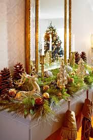 christmas decorating home cool fireplace mantel christmas decor home interior design simple