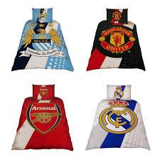 Manchester United Double Duvet Cover Football Club Single Duvet Cover Bedding Sets Arsenal Chelsea