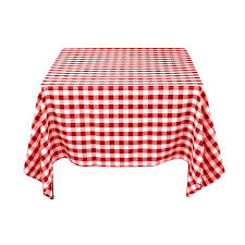 Tablecloth For Patio Table by Gingham Tablecloth Dining Table Decoration Linen Home Interior