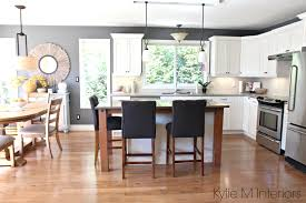kitchens with maple cabinets open layout kitchen and dining subtle country farmhouse style