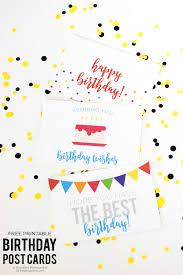 Halloween Birthday Cards Free Printable by Free Birthday Printables Eighteen25