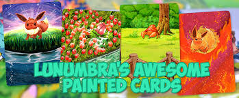 painted cards for sale lunumbra s awesome painted cards home