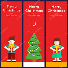 merry christmas and happy new year greeting card templates poster