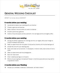 wedding registration list simple wedding checklist 23 free word pdf documents