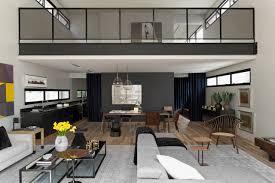 Industrial Apartment Modern Industrial Interior Design In Beautiful Open Apartment