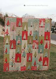 buttons and butterflies oh christmas tree quilt