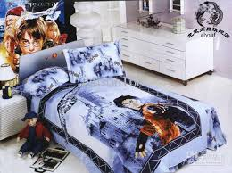 Bed Quilt Brand New Harry Potter Cartoon Bed Quilt Cover Bedding Sets Suit