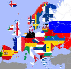 Northwestern Europe Map by German Empire Flag Grunge Free Here