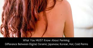 japanese medium length hairstyles vs ceramic vs japanese vs korean perms what you must know about