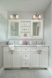 exquisite vanity mirror at double bathroom cabinets home design