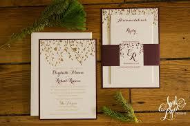 wedding invitations gold liz rob s gold foil fall wedding invitation suite april