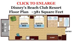disney world floor plans review disney s beach club resort beach club resort beach club