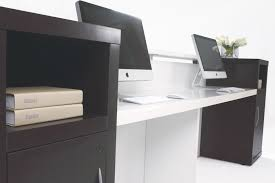 Mobile Reception Desk by Aston Counter