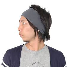 hair bands for men mens elastic hair bands ebay