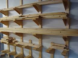 follow your heart woodworking workshop lumber rack