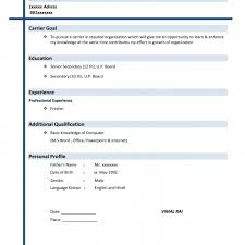 parse resume easy resume template 81 interesting easy resume exles of with