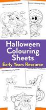 early halloween colouring sheets teachwire teaching resource
