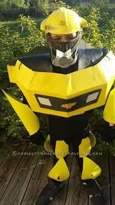 Bumblebee Transformer Halloween Costume Coolest Bumblebee Costume Ideas Transformer Halloween
