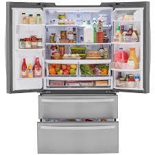 lg bottom freezer french door refrigerator amazon com kenmore 72495 26 7 cu ft 4 door french door