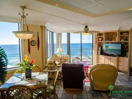 smack dab on the beach 808e b floor pla vrbo living dining with views of the gulf of mexico