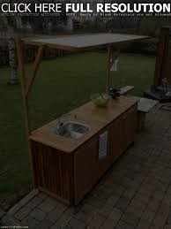 Outdoor Kitchen Sink by Outdoor Kitchen Cabinets With Sink Tehranway Decoration