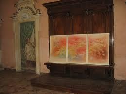 Trompe L Oeil Wallpaper by File Mostra Arte Contemporanea Opera Di Fraccaro All U0027interno