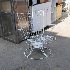 Metal Patio Chair Twenty Gauge Industrial Metal Patio Chair Salvage Furniture