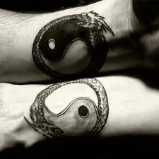 chinese yin and yang couple tattoos jpg 640 640 inks