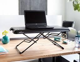 varidesk soho height adjustable standing desk gadget flow
