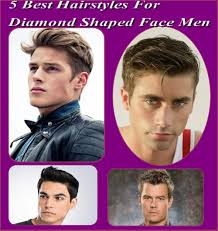 5 best hairstyles for diamond shaped face men hairstyles easy