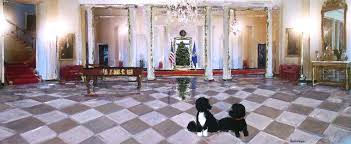 the 2014 white house holiday card features artwork by emily