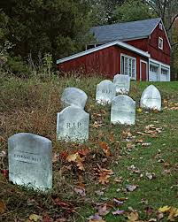 tombstone lawn decorations family crafts