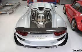 porsche concept 918 spyder porsche 918 spyder carbon additions gmg racing