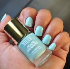 milani color statement nail lacquer in mint crush