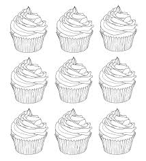 cupcake coloring page cupcakes warhol cup cakes coloring pages for adults justcolor