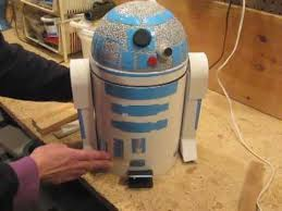 part 2 of 2 make an r2d2 trash can that talks youtube