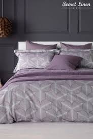 buy the secret linen store feather duvet cover from the next uk