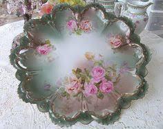 mz austria bridal beautiful antique mz austria porcelain plate painted artist